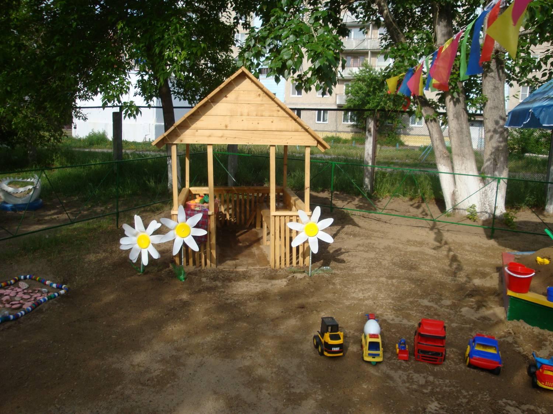 Оборудование участков детского сада своими руками фото