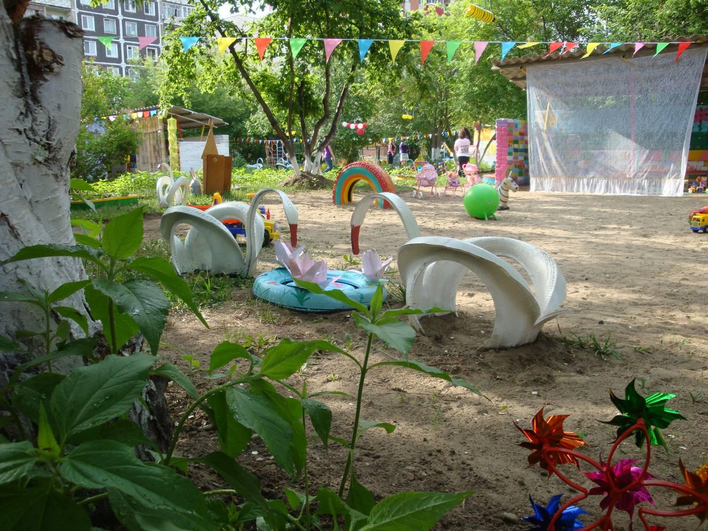 Оформление участка в саду своими руками фото