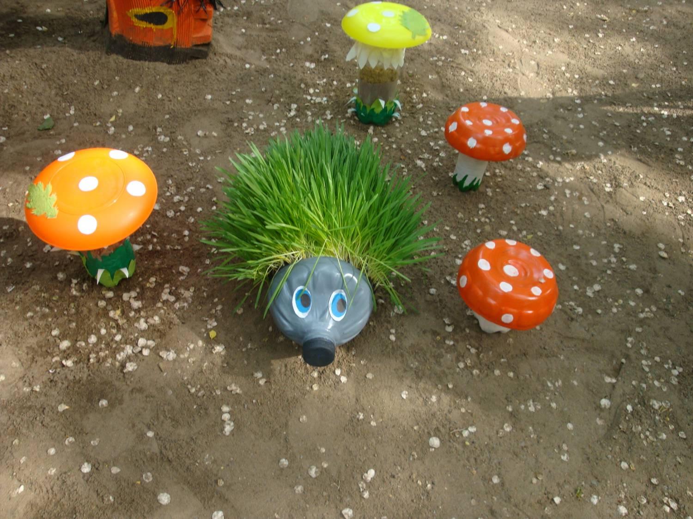 Мой детский сад оформление участка своими руками 549